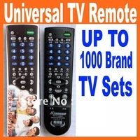 Free Shipping !!! wholesale One year warranty Universal TV Remote controller for 1000 Brand TV sets