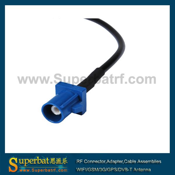 "GPS antenna Extension cable Fakra Plug ""C"" pigtail 15cm(China (Mainland))"