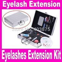 Women's beauty False Eye Lash Eyelash Eyelashes Extension Kit Full Set with Case, Dropshipping Free Shipping