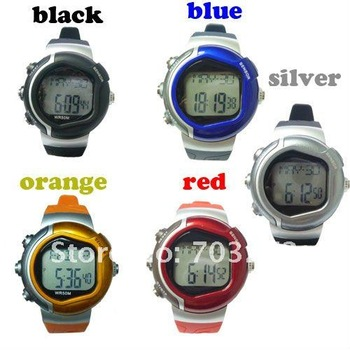 Wholesales! 1pc freeshipping digital Calorie Burned Heart Rate Pulse Sport Watch Wrist watch !