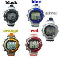 Wholesales! 5pcs/lot freeshipping digital Calorie Burned Heart Rate Pulse Sport Watch Wrist watch !