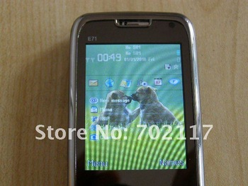 Polish  mini E71 TV cell phone fast shipping support drop shipping