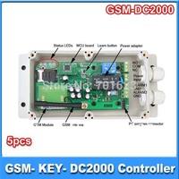 5 pcs GSM Gate/Garage Opener gsm door opener GSM-KEY-AC2000
