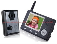 Wholesale - digital 3.5 inch 2.4GHz wireless colour video door phone intercom