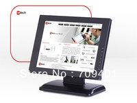 15'' Aluminum case Touch Screen Monitor DVI HDMI VGA