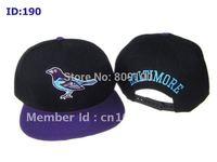 Baltimore Q's snapback adjustable caps Mix order baseball hat High quality cap Free ship Snap back hats