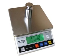 free shipping economical type 180mm*180mm stainless steel scale pan 10kg 1g auto blue backlight LCD display digital scale
