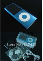 Global selling  4GB 4th  MP4 ,1.8 inch TFT screen MP4 Player REC FM ,free shipping