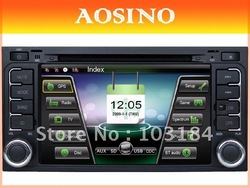 Aosino double din special car dvd / car radio for VOLKSWAGEN MULTIVAN car audio with GPS navigation free map(China (Mainland))