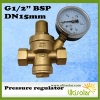 1/2 inch Water Pressure Reducing Valve with Pressure Gauge-Ultisolar New Energy Co., Ltd-Woolf Zhang