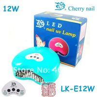 LED nail uv lamp,CHERRY LK-E12W,AC110V,AC230V,POWER12WNail Uv Lamp,Nail Art Machine,Nail Tool,Nail Beauty,Nail Dryer