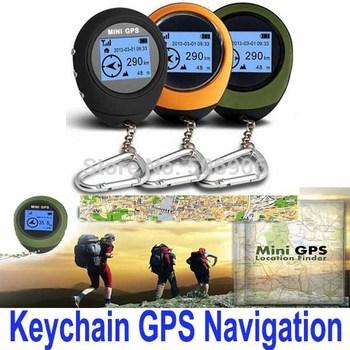 Big discount Portable Mini Handheld Keychain Outdoor Sport Travel GPS Navigation, Free Shipping
