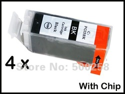 4 pcs New Compatible ink cartridge for Canon PIXMA Printer IP4200 IP3300 MP500 MP960 MP970 PGI-5(China (Mainland))