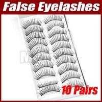 10 Pair Party Makeup Long False Fake Eyelashes Eye Lash  #1714