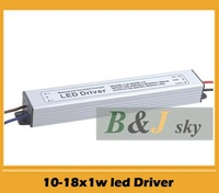 High quaity, (10-18)*1w,10w 11w 12w 13w 14w 15w 16w 17w 18w led waterproof driver