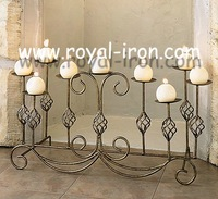 New stle,professional making,long time using,European wrought iron candle holder,iron candleholder,Christmas candle holder