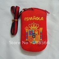 spain cell phone pocket / football team mobile phone bag /