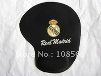 Real Madrid soft wrist mouse pad/fans souvenir