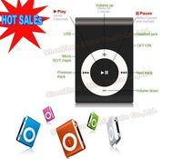 4 in 1 Clip MP3 Player + Earphone + USB + Bag Support 1-8GB TF card  The best Christmas gift