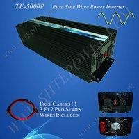 pure sine off grid inverter 5kw converter 5kw 24v 110v