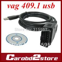2014 VAG 409.1 COM USB KKL,VAG409 USB interface black cable