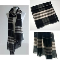 Free shipping wholesale women 180x60cm fashion silk and wool scarf