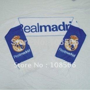Wholesale Real Madrid  fc scarf /  fans souvenirs  5pcs
