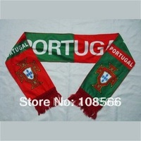 Wholesale Portugal  red and green scarf / comfortable neckerchief    5pcs