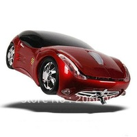 2012 new arrival hot selling novel computer usb wired sports car optical mouse(3867)