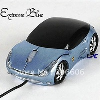 2012 new arrival hot selling novel computer usb wired sports car optical mouse(3867b)