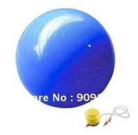 Sale Promotion ! Professional Quality Yoga Ball Burst-Resistant  Gym Ball  With Deflation Foot Pump