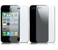 1000pcs/lot Clear screen protective for iphone 4, Full body Front & Back Clear screen protective film,free shipping by dhl