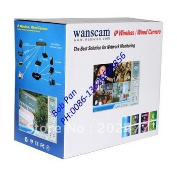 10pc/lot 2014 New Wireless WIFI IP Camera IR Night Vision