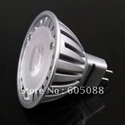 1x3w edison high power mr16 led lamp,2900-3300k,150Lm,DHL free shipping