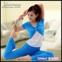 Free Shipping wholesales & retail  New  design wome Yoga shirts  n  Yoga clothes yoga suit fitness wear dress 6pcs/lot