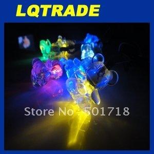 High-Q solar products&Low cardon Chriatmas/2011 Christmas lights /Ten head hang bear Christmas string Lamp