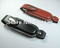 Wholesale NEW leather Sucker Genuine 2GB 4GB 8GB 16GB 32GB USB 2.0 Memory Stick Flash Pen Drive, Free shipping