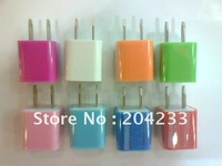 Wholesale 100pcs/lot AC USB Power USB Wall Charger For iPhone 4 4S 3G 3GS free shipping by DHL