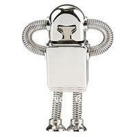 FREE shipping metal robot USB flash disk memory drive 4GB/8GB/16GB capacity