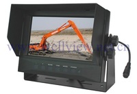 7inch Waterproof Lcd Monitor,IP69K,2 ch Video Inputs