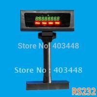 LED POS Customer Pole Display RS232 Black Color (LED8A-R-B)
