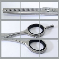 free shipping,Tungsten steel barber scissors,hairdressing scissors,dental scissors,thinning scissors,BN-8D497F08(China (Mainland))