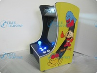10.4 inch LCD Mini Table top Cocktail Machine With Classical games 60 in 1 Game PCB with Iluminated joystick and Round button