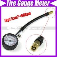 Car Dial Pressure Tyre Measure-Metal Tire Gauge Meter    #1683