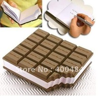 Chocolate Shaped Notepad Memo Messge Pad Pads Notebook Pocket Book 10pcs/lot