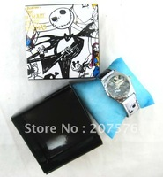 Wholesale - 20pcs  The Nightmare Before Christmas Watch Wristwatches W FREE Boxes XMAS Gifts