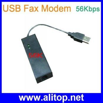 USB Fax Modem 56K Dial up Voice,Data External V.90,V.92 For Windows 98 SE / ME / 2000 / XP