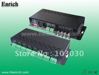 Free Shipping ! DMX-PWM DMX Decoder 880 24CH DMX Decoder LED DMX512 Decoder (Max load current :3A/CHx24 Max 72A)