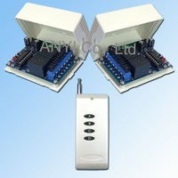 Wholesale 2 Channel  Radio Remote Control Switch Voltage Power DC12V 3 Control Modes