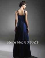 Adrienne Frantz A-line V-neck Floor-length Taffeta Emmy/Evening Dress Formal evening Celebrity Dress